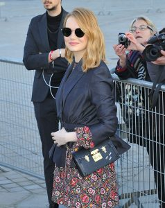 emma stone petite malle shoulder bag