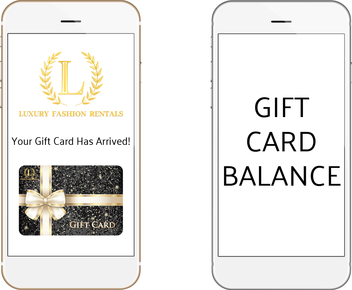gift cards page
